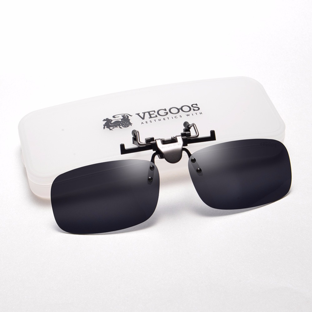 c8f3d44b6ee New Polarized Sunglasses Clip on Eyeware Myopia Glasses For Fishing Driving  Traveling Night Vision Easy Flip Up Sunglass Oculos