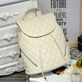 New Arrival Spring School  Backpack Fashion 2017 Women's Bag Casual All-Match Grade PU Brand Girl Backpack drawstring bag Beige