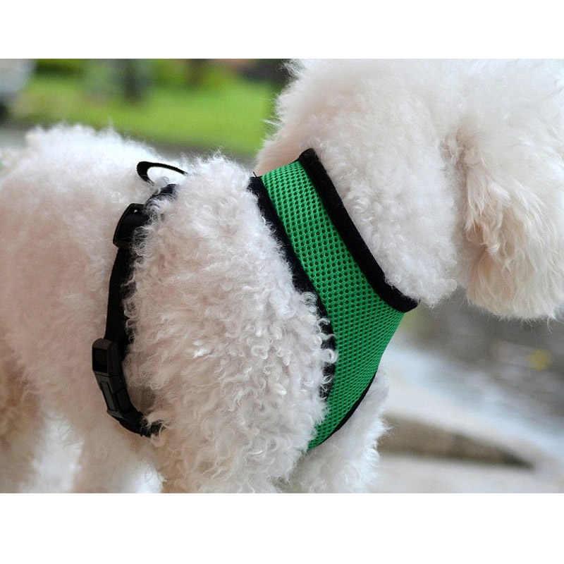 Malla Transpirable Mascotas Arnés Del Perro Chaleco Arnés Ajustable Para Caminar Al Aire Libre Para los Pequeños Perros Medianos