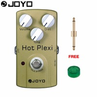 JOYO Hot Plexi Drive Electric Guitar Effect Pedal True Bypass Tone Controls JF 32 With Free