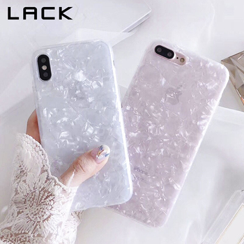 LACK Fashion Conch Shell Phone Case For iphone 6S Case For Apple iphone X 6 7 8 Plus Back Cover Luxury Lovely Cases Funny Coque
