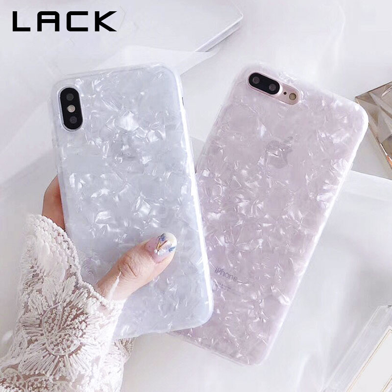 brand new 0148f 0662d US $2.37 30% OFF|LACK Fashion Conch Shell Phone Case For iphone 6S Case For  Apple iphone X 6 7 8 Plus Back Cover Luxury Lovely Cases Funny Coque-in ...