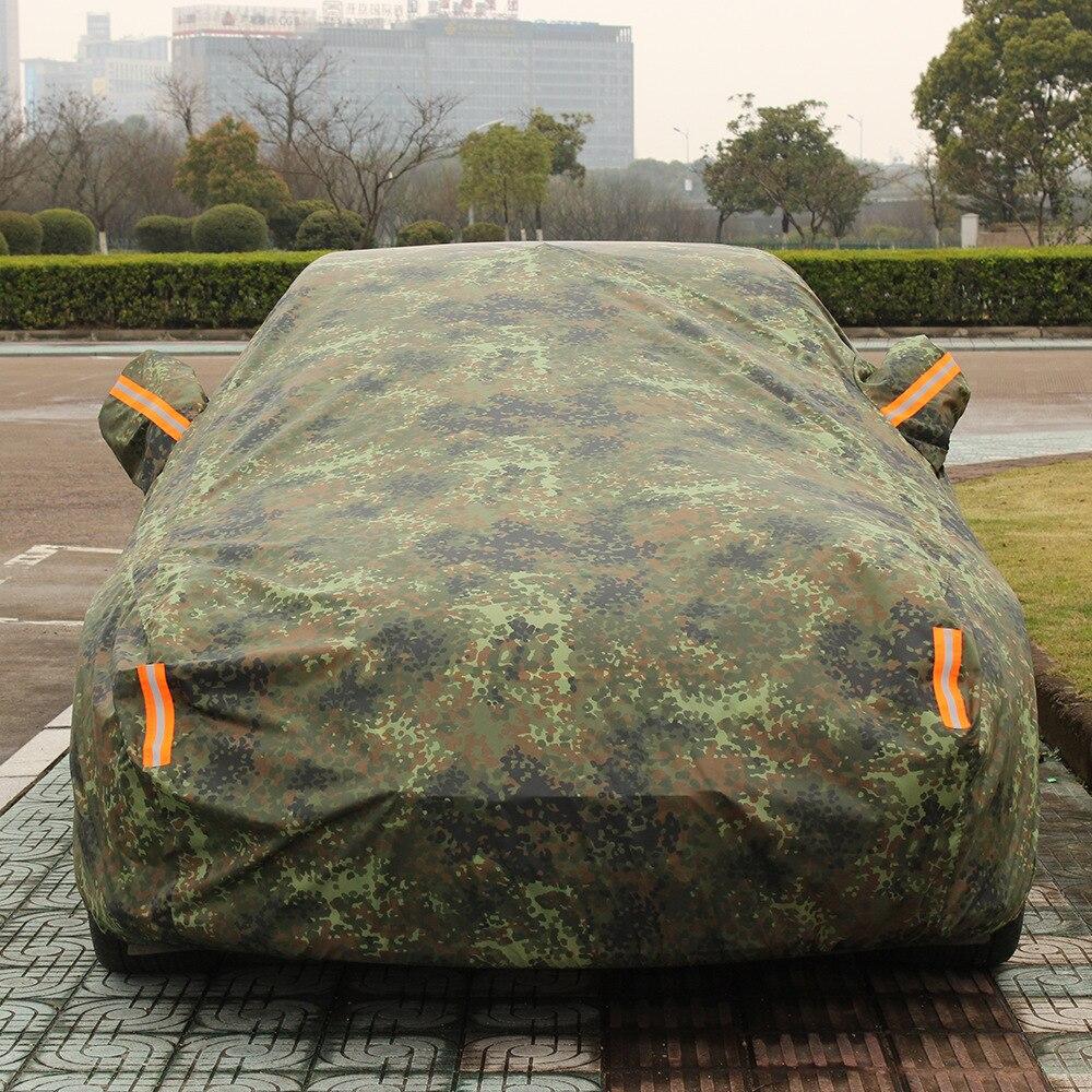 Bâches de voiture imperméables universelles couverture de protection solaire extérieure pour voiture réflecteur poussière pluie neige protection suv berline hayon