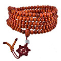 Hot Sale Sandalwood Beads Buddha Buddhist Meditation Mala Prayer Bracelet Necklace Fashion Women Jewelry