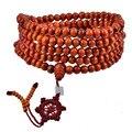 Venda quente Contas de Sândalo Buda Meditação Budista Oração Mala Colar Pulseira Moda Feminina Jóias