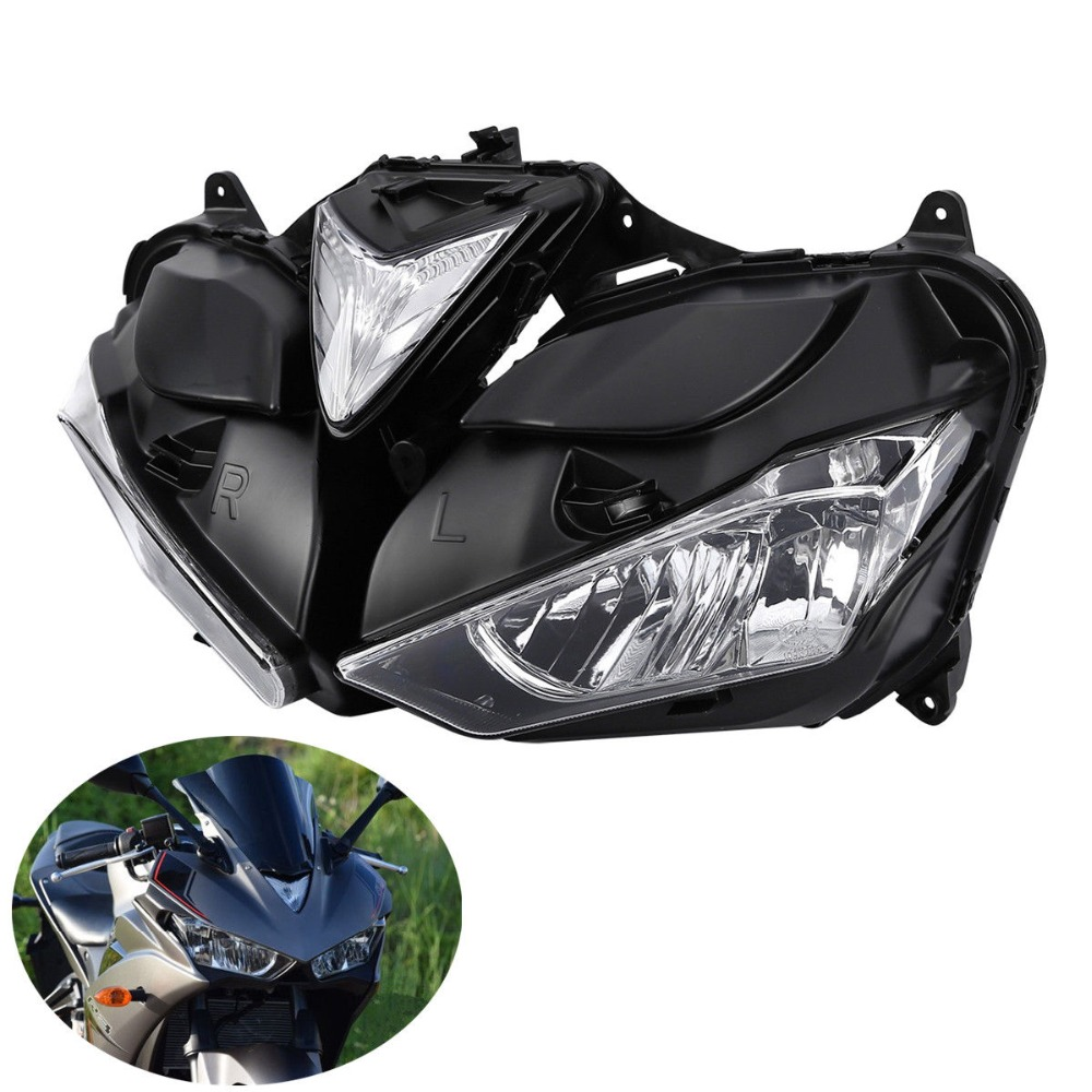 ABS Front Head Light Assembly Headlamp Lighting For Yamaha YZF R3 <font><b>R25</b></font> 2013-2016 2015 image