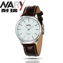 Новый кварцевые часы пара бизнес случайные студент мужчин и женщин простой ретро пояса