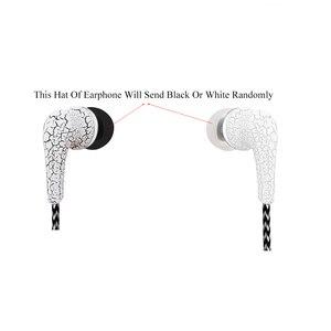 Image 5 - HOMEBARL pleciony ziarna J5 słuchawki douszne uszny drut w ucho słuchawki Stereo dla iphone Samsung Galaxy S6 S5 S4 S7 S8 Mic