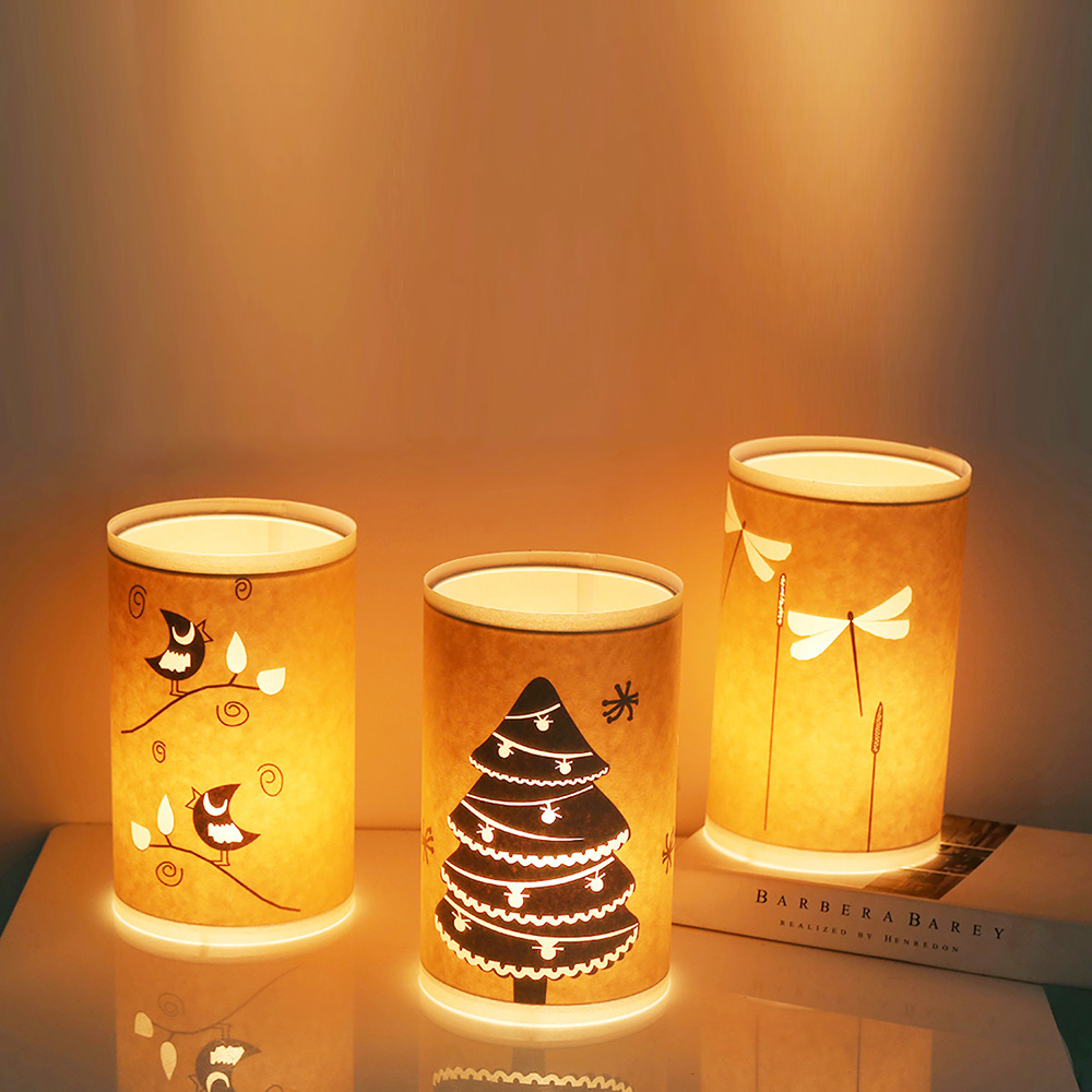 Aliexpress.com : Buy Lightme Parchment Night Light Hollow