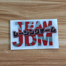 JDM Racing team Sunrise style Car sticker scratch reflective stickers for honda toyota Mitsubishi nissan mazda Suzuki accessorie цена