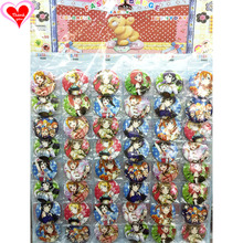 Love Live Lovelive! #B style 16/24/32/40/48 pcs lot PIN BACK BADGE BUTTON BROOCH PARTY BAG GIFT TOY CLOTH Cartoon& anime love live lovelive sunshine aqours aquarium anime yoshiko chika hanamaru ruby you dia riko kanan mari beanchain acrylic keychain