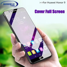 Full Cover Tempered Glass For Huawei Honor 9 Screen Protector 2.5D 9h hardness t