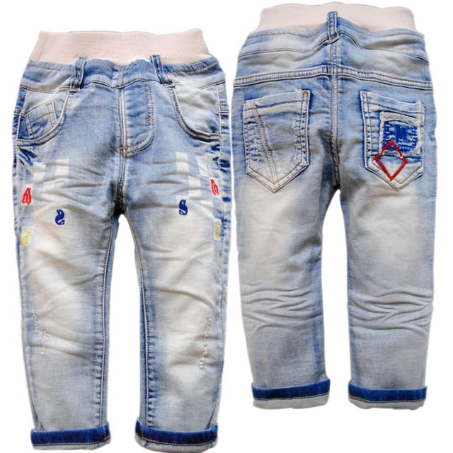 3863 baby jeans baby boy jeans casual boys  pants kids trousers child  kids fashion new girls or boys