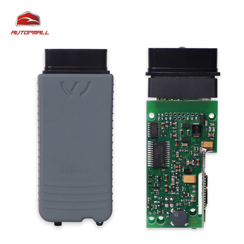 Newest VAS5054A Diagnostic Tool Vas 5054a ODIS V3.0.3 Bluetooth Full OKI Chip Support For Audi For Seat For VW For Skoda