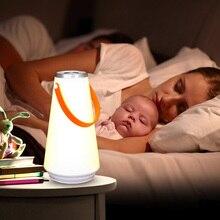 Coquimbo сенсорный выключатель прекрасный Ночной свет встроенный аккумулятор портативный беспроводной затемнения настольная лампа для дома прикроватная