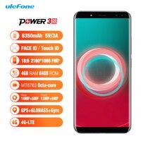 Ulefone Power 3S 6 0 18 9 FHD Mobile Phone MTK6763 Octa Core 4GB RAM 64GB