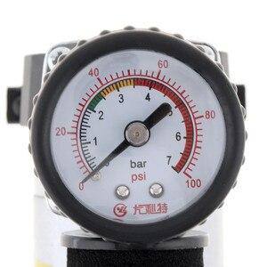 Image 4 - 100PSI 12V przenośny do samochodu elektryczna pompa powietrza w oponach sprężarki Inflator mini kompresor powietrza pompka inflatora powietrza 1 zestaw