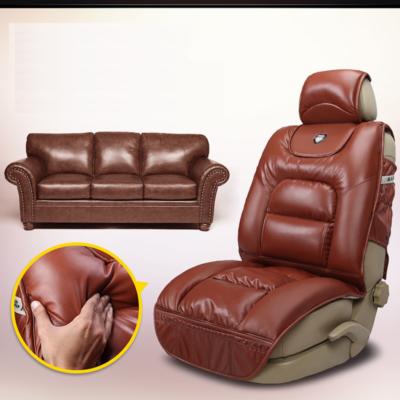buy pu leather winter car seat cushion full thick seats cushions for bmw x5. Black Bedroom Furniture Sets. Home Design Ideas