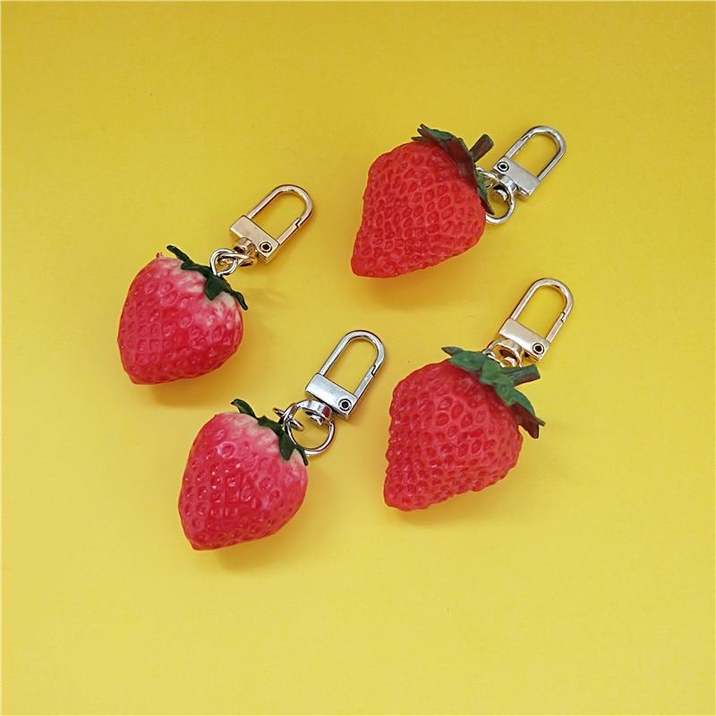 Women/'s Alloy Yellow Fruit Key Chain Key Pendant Handbag Charms Accessories