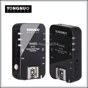 Yongnuo YN 622C YN 622 Wireless ETTL HSS 1/8000S Flash Trigger 2 Transceivers for Canon 1100D 1000D 650D 600D 550D 7D 5DII 50D|yn 622|yongnuo yn-622c|for canon -