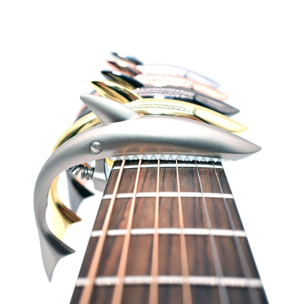 Guitar Shark Guitar Capo ψευδάργυρο κράμα - Μουσικά όργανα - Φωτογραφία 2