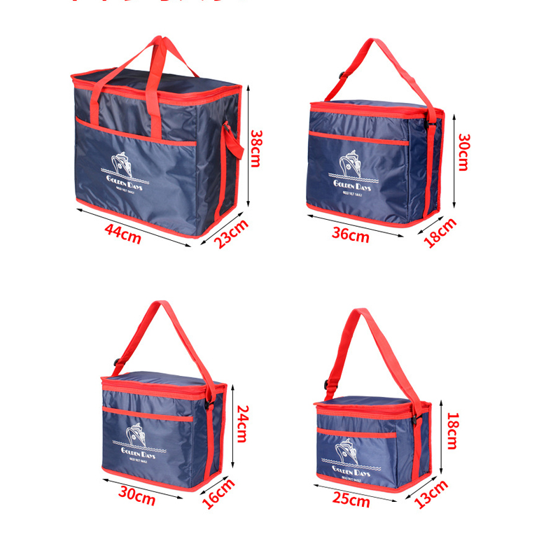 SIKOTE 8L 11.5L 20L 38L Cooler Bags Insulated Ice Cold Storage Pack Lunch Bag Aluminum Foil Picnic Food Container Keep Fresh