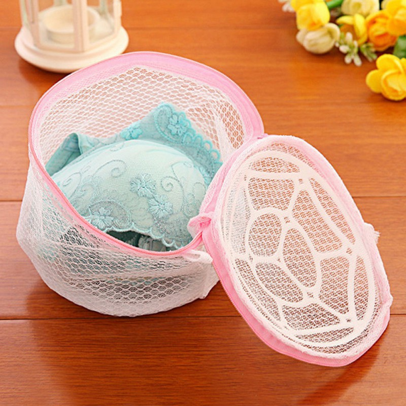 Women Stockings Lingerie Bra Wash Protecting Bag Mesh clean washer Practical Aid Laundry Bags