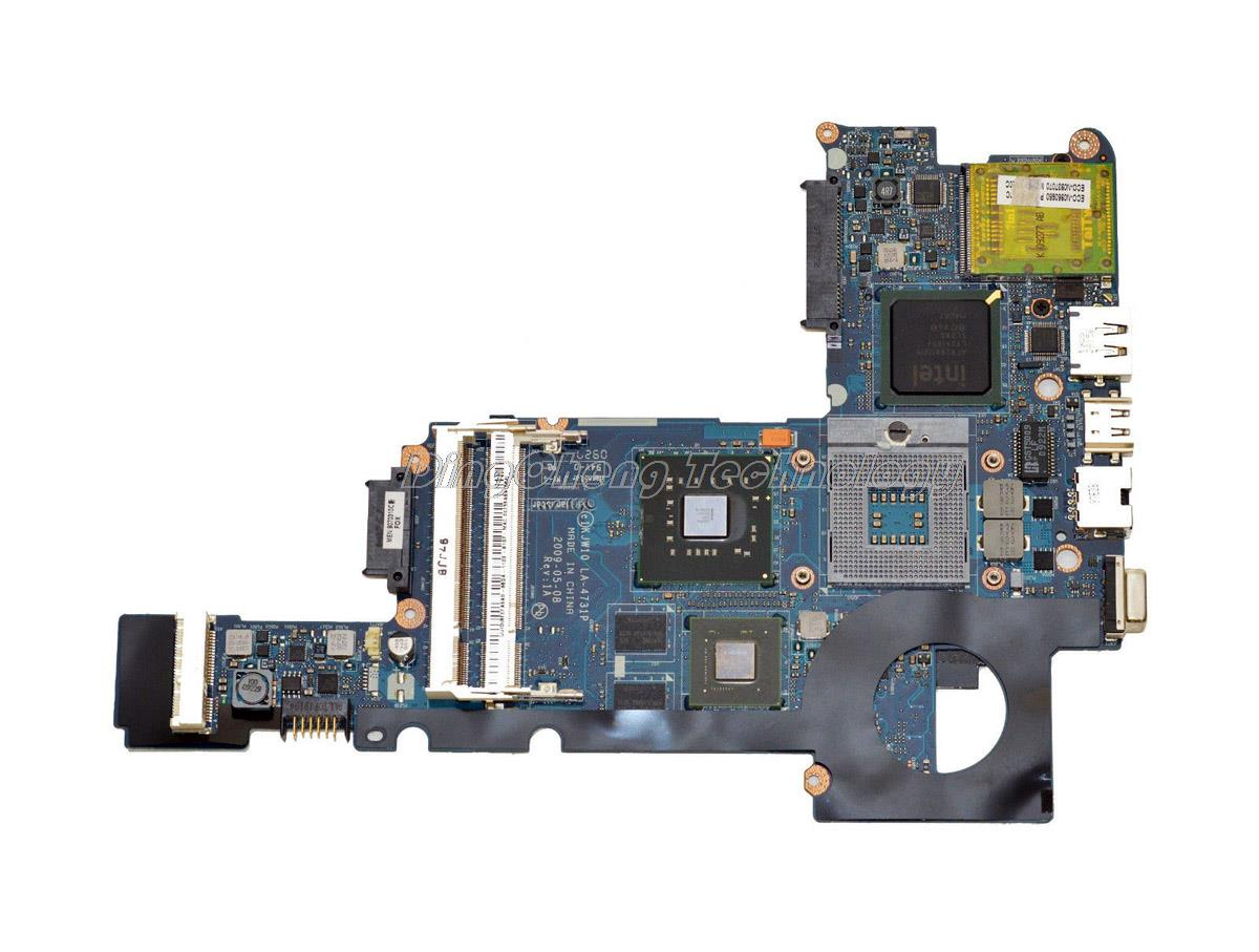 SHELI laptop Motherboard For hp DV3 CQ35 538765-001 KJW10 LA-4731P pm45 DDR2 integrated graphics card 100% fully tested