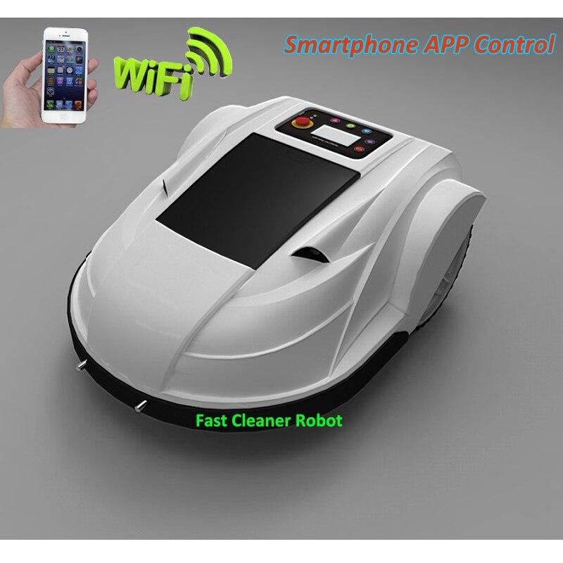 Découpeuse intelligente automatique d'herbe de la génération 3rd S510 avec l'application de Smartphone WIFI, capteur ultrasonique, rechargé automatique