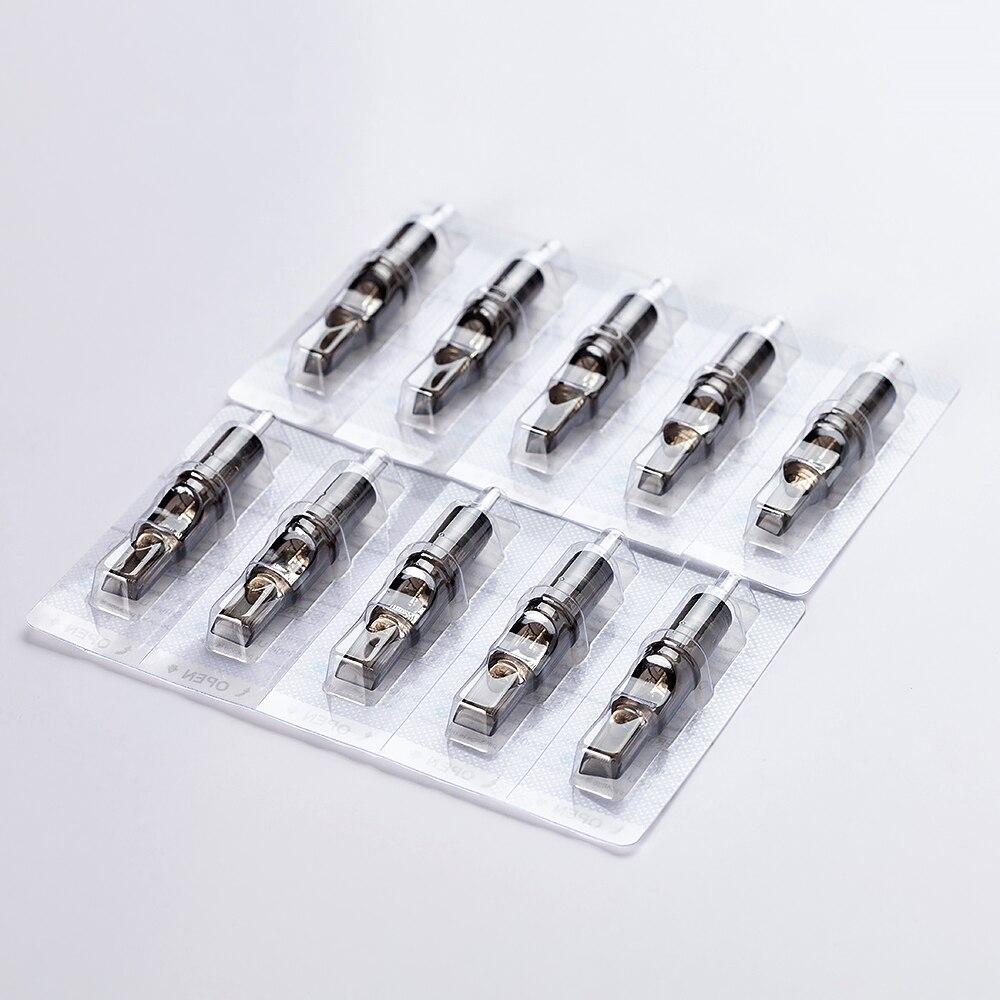 50 Pcs/lot Original FILTER Cartridge Tattoo Needles Round Liner #10 0.30mm 1003RL 1005RL 1007RL 1009RL 1001RL Membrane Inside