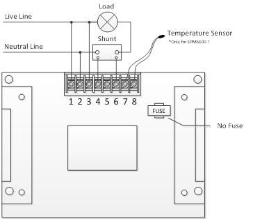 EPM6600 300V / 30A / 9kw kintamos srovės vienfazių elektros - Matavimo prietaisai - Nuotrauka 5