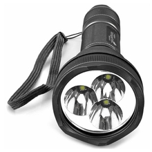 TangsFire 3 x Cree XM-L T6 White Light 1000 Lumens 5 Modes Tactical Flashlight Gray