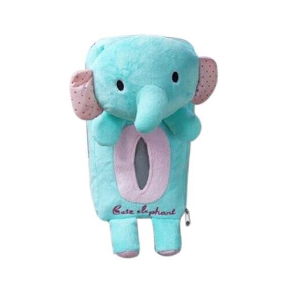HOT SALE Car Tissue Box Bathroom Storage Holder Portable Tissue Box For Baby Travel, Blue