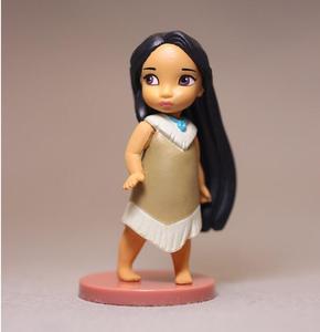 Image 2 - 11pcs טיאנה מרידה יסמין נסיכת פעולה דמויות שלג לבן בת ים נסיכת אנימה דמויות צעצועי ילדים בנות ילדים