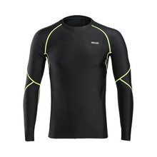 Winter Warm UP Fleece Cycling Base Layer Men Compression Base Layers Tights Cycling Long Sleeves Workout GYM Shirts