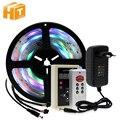 6803 IC Traum Farbe RGB LED Streifen 5050 30LED/m IP67 Wasserdichte 5 M + 133 Programm RF Magie controller + Adapter