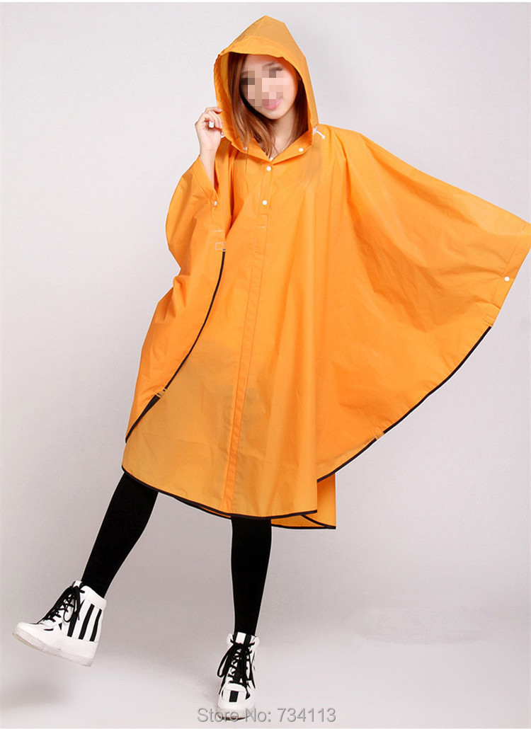 Fashion Rain ponchoEnvironmental protection EVA outdoor Rain gear - Household Merchandises - Photo 2