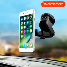 Universal Car Holder mobile phone stand For iPhone 7 8 6s Plus Black GPS adjustable Holder Case for Xiaomi For Samsung