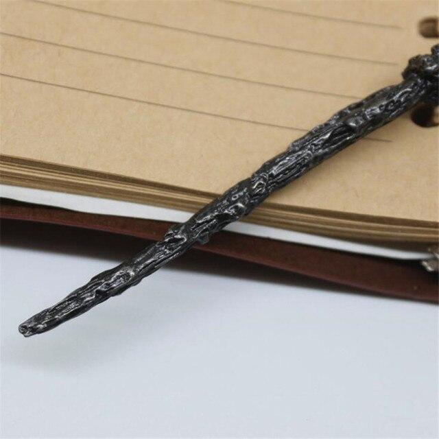 Брелок с карабином палочка Гарри Поттер 3
