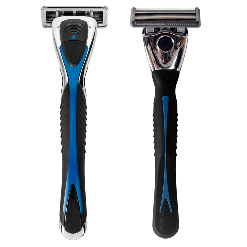 Classic US Imports of 6-layer Blade Electric Shaver with 1 Manual 1 Handle Blade Free Backup Shaving Thoroughly top Quality 5 pieces free shipping ct machine brushes german imports of raw materials with silver graphite 6 6 20mm