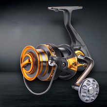 Superior Metal Arm 13+1BB 4000-7000 Series Surf Spinning Fishing Reels Big Long Shot Casting Fly Sea Wire Cup Wheels