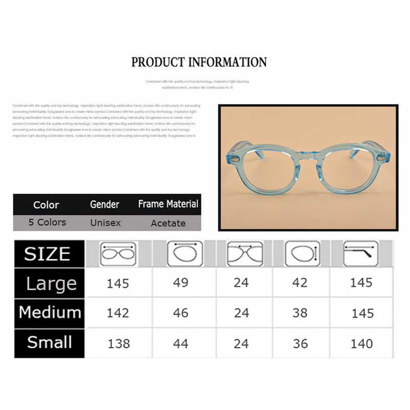 fd04238cbf ... Eyeglasses Frame Men Women Computer Optical Johnny Depp Glasses With  Case Box Vintage Spectacle Frame For Male ...