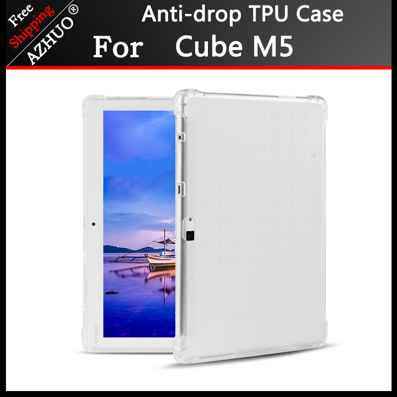 Gota resistência Capa case para alldocube M5 10.1 polegada Tablet PC Ultra fina TPU Tampa Do Caso Para Teclast M20/ onda X20
