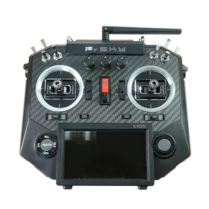 Update version Frsky Hours X10S 2.4G 16CH Transmitter Remote Controller TX Built-in iXJT+Module frsky horus amber x10s 2 4g 16ch transmitter tx built in ixjt module for fpv aerial photography rc helicopter drone