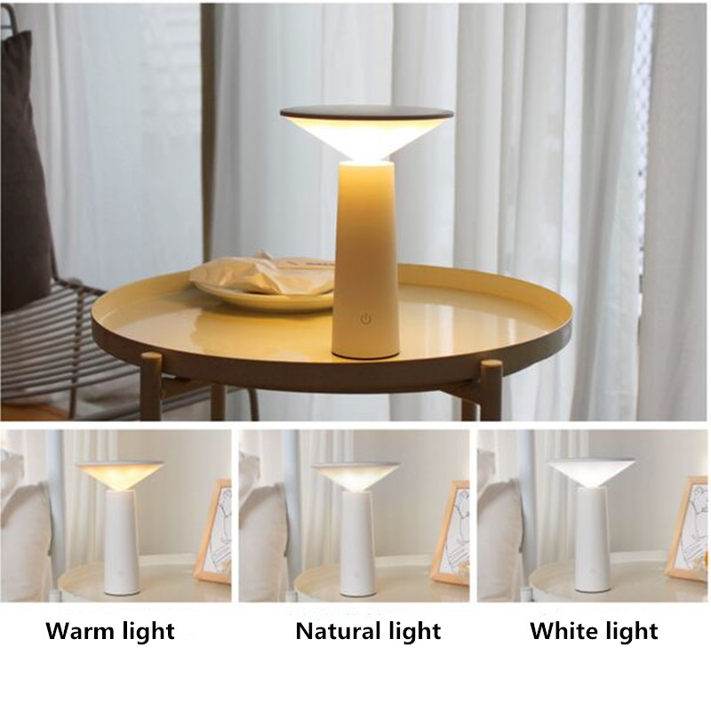 Modos de LED Mesa lâmpada de Mesa