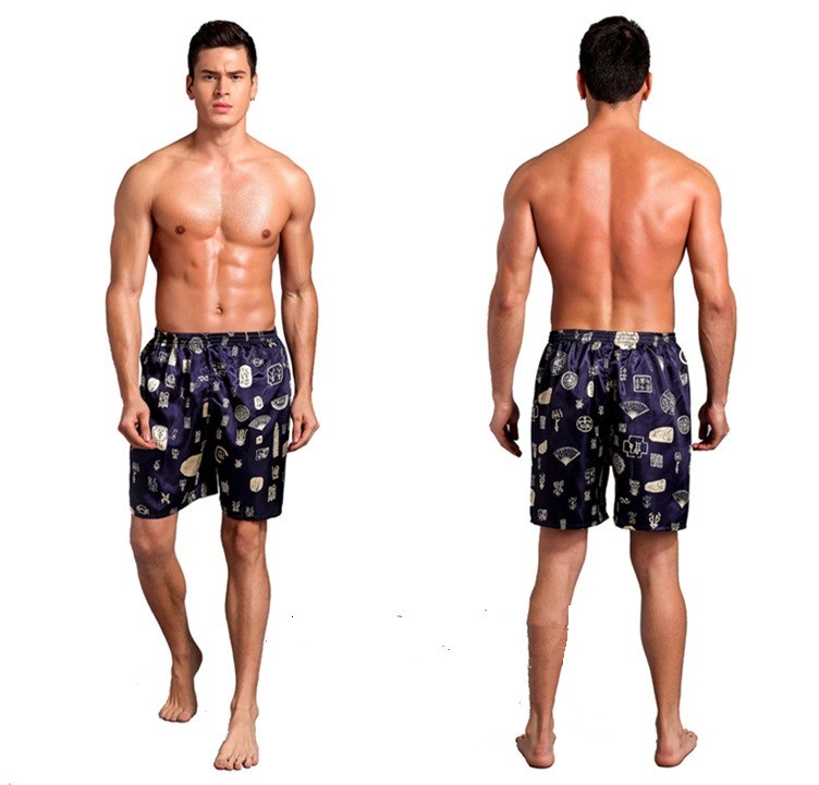 TBVS 79 Peru Logo Mens Summer Casual Board Shorts with Mesh Lining