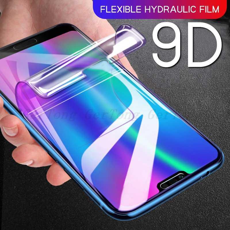 9D hydrożel Film dla Huawei Honor 10 Lite 20 Pro 10i 20i grać pełna pokrywa folia ochronna na wyświetlacz z zakrzywionymi krawędziami dla Honor 8X 8C 8A nie szkło