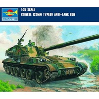 OHS Trumpeter 00306 1/35 Chinese 120MM Type 88 Anti Tank Gun Assembly Tank Model Building Kits oh