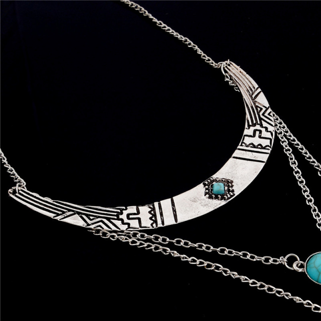Bohemian Style Multilayer Necklace