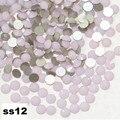 Crystal Pink Opal Nail Rhinestones,ss12 1440/bag Flatback Non Hotfix Glitter Nail Stones,DIY 3d Nail Phones Decorations Supplies